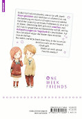 Backcover One Week Friends 7