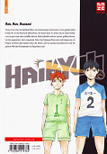 Backcover Haikyu!! 1