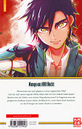 Backcover Magi - The Labyrinth of Magic 35
