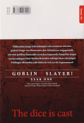 Backcover Goblin Slayer! Year One 3