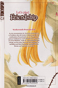 Backcover Let's play Friendship 1