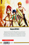 Backcover Magi - The Labyrinth of Magic 7