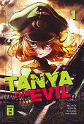 Frontcover Tanya the Evil 1