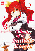 Frontcover Chivalry of a Failed Knight 3