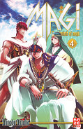 Frontcover Magi - The Labyrinth of Magic 4